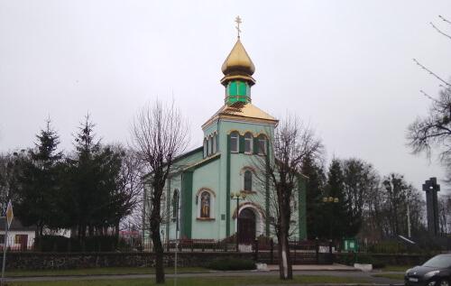 Церква Андрія Первозванного Ковель